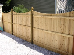 Click here to see our Wood Fence gallery